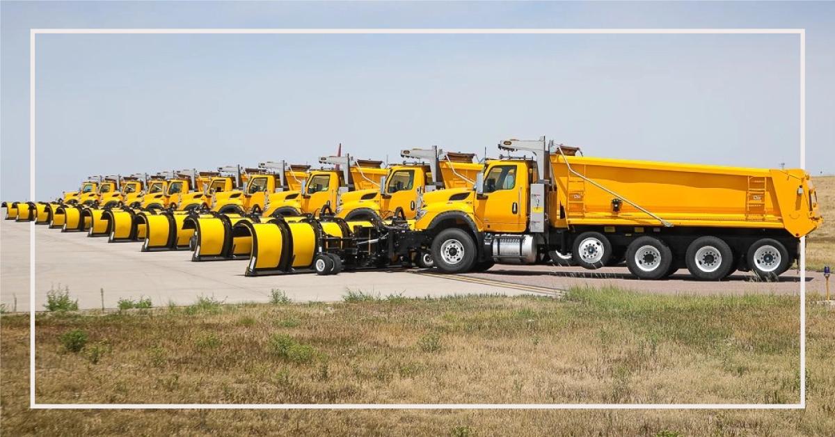 Monroe Truck Equipment Delivers Custom Fleet for Denver International Airport