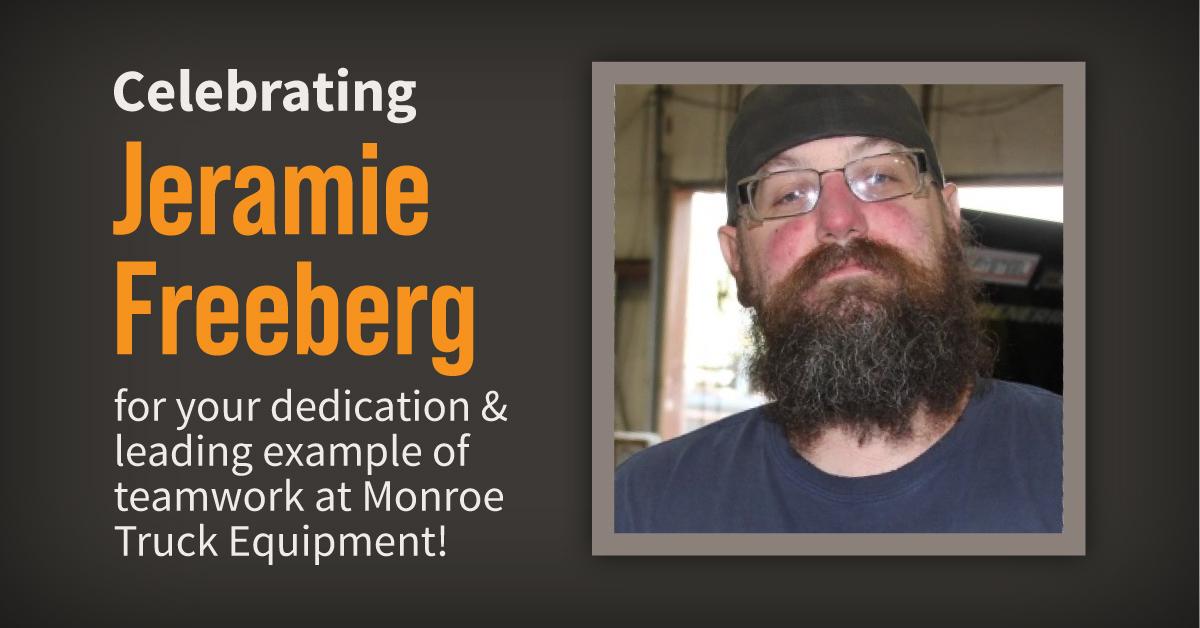 Monroe Truck Equipment Installer Employee Spotlight: Jeramie Freeburg