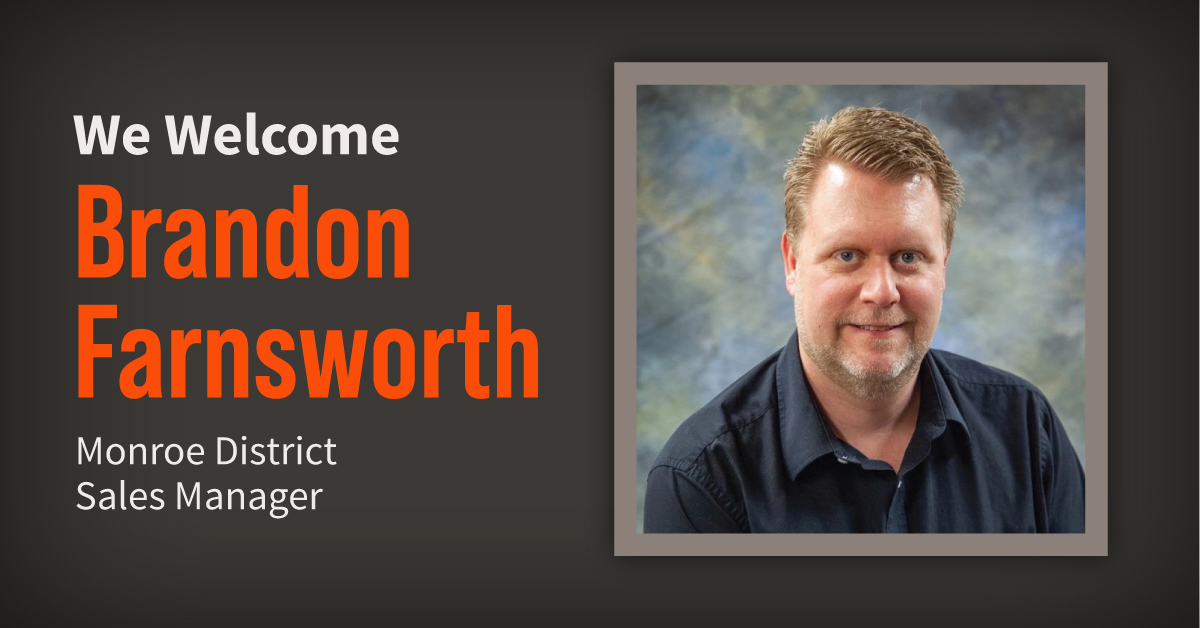 Meet Brandon Farnsworth, Our Newest District Sales Manager