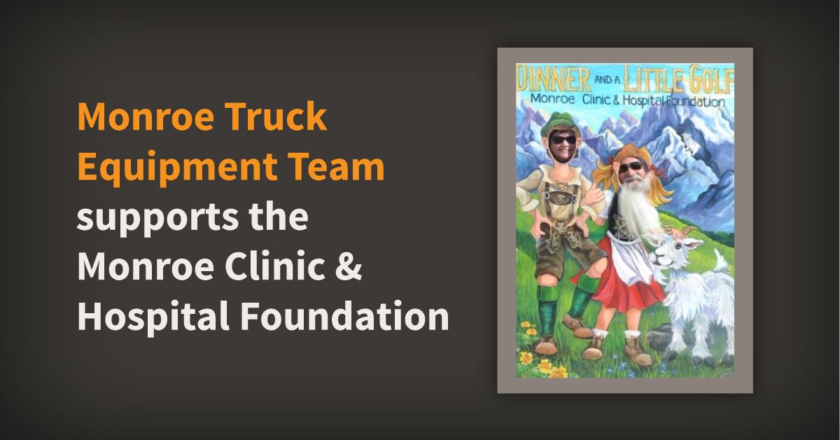 Monroe Truck Equipment Team Supports Local Hospitals Through Mini-Golf Fundraiser