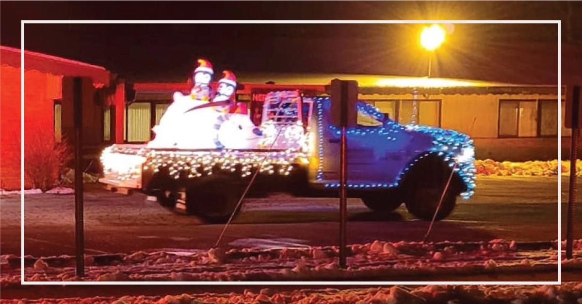 Monroe Truck Equipment Bringing Holiday Cheer to Monroe, WI