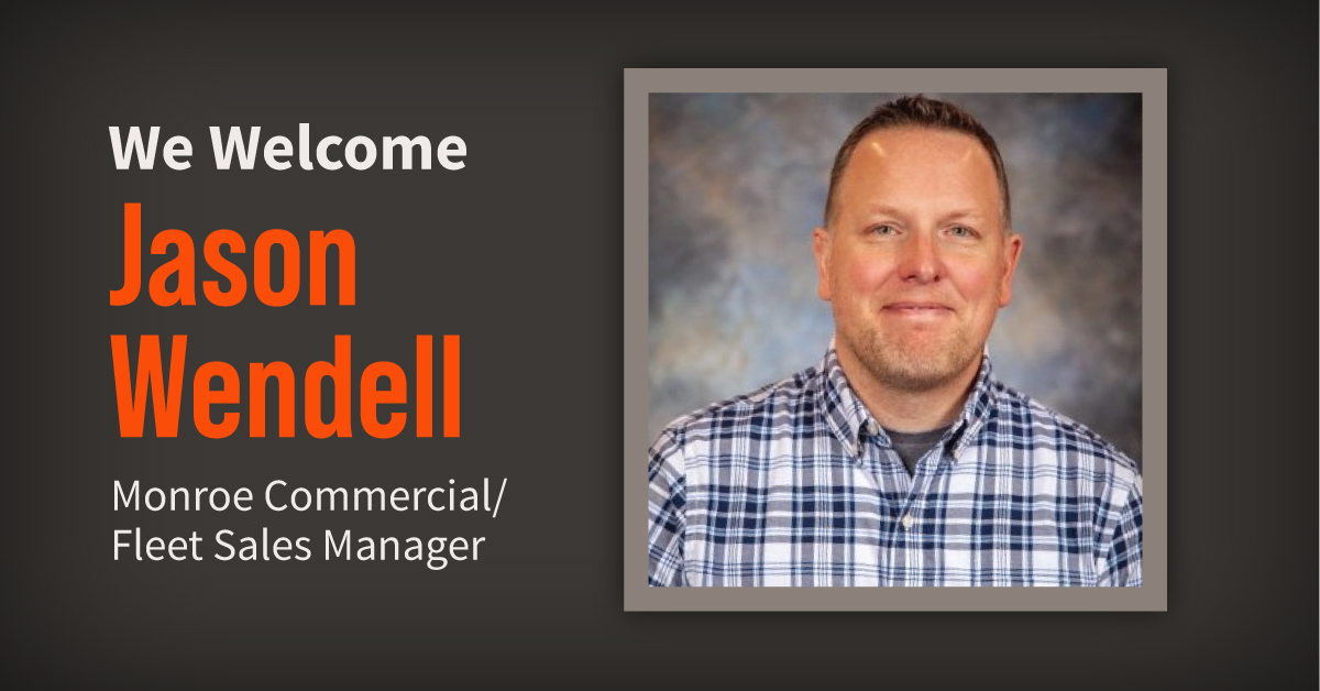 Meet Jason Wendell, our Newest Commercial/Fleet Sales Manager