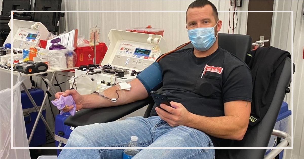 Monroe Truck Hosts Pint for Pint Blood Drive with Culver's Support